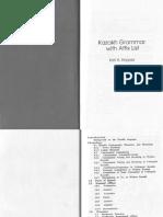 Karl A. Krippes - Kazakh Grammar With Affix List-Dunwoody Pr (1997)