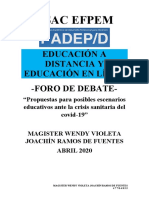 debate foro wendy
