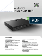 NVR(TC-R3440 Spec-I-B-N-H-C) SPEC