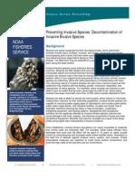 Preventing Spread of Invasive Bivalve Species