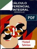 Calculo DIferencial e Integral - Granville Solucionario