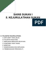 5. KEJURULATIHAN SUKAN U6