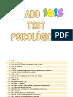 Correos electrónicos LISTADO 1012 TEST PSICOLÓGICOS