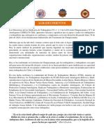 AGRADECIMIENTOS DESDE CHUQUI CODELCO