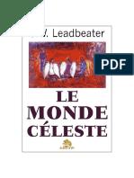 Charles Webster Leadbeater - Le monde céleste ou plan mental