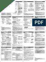 OM Manual 3P579594-2-1