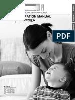 FTXS15_18_24LVJU Operation Manual