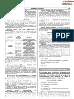 Ordenanza 645 MSB. Medidas de Bioseguridad Covid 19