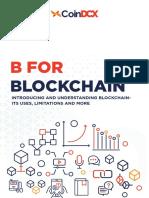 B For Blockchain