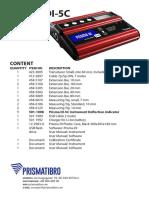 Prisma-DI-5C-Small_Content-list.pdf