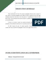 Memoire  suivi des traitements des comptes clients et amelioration de la TRESORERIE.