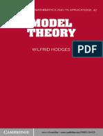 Wilfrid Hodges - Model Theory