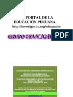 Politicas publicas en el sector educación