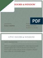 UPVC DOORS & WINDOW new