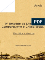 Anais - IV Simposio de Literatura, Comparatismo e Crítica Social.pdf