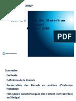 Etat des lieux Fintech Senegal