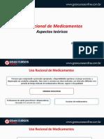 Aula 2 - Uso racional de Medicamentos - Aspectos Teóricos