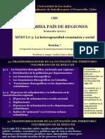 Sesión 7, Transformaciones territoriales siglo XX(2)