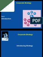 Corporate Strategy - Module 1