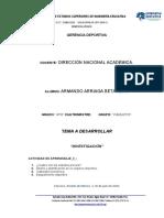 Investigación Armando Arriaga