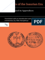 Laws of the Isaurian Era. The Ecloga and its Appendices_M. Humphreys (2017)