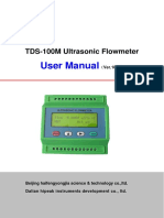 TDS-100M manual