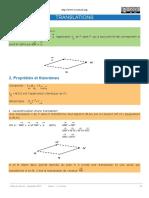 Applications affines -2- translation