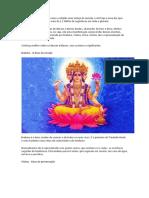 O hinduísmoe os Deuses