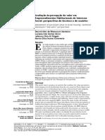 avaliação da percepção de valor em empreendimentos de interesse social