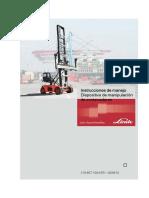 Manual de especificaciones y procedimientos Empty Container Linde C97