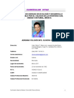 CV- Adriana Olivera