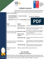 Formacion Promotores de Cambio Social_Certificado Digital de Aprobación