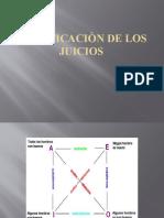 CLASIFICACIÒN DE LOS JUICIOS