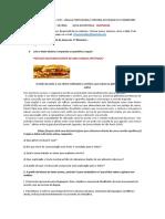 8º B - ATIVIDADES - ARTIGO CIENTÍFICO - ( TERCEIRA ATIVIDADE DO 2º BIMESTRE)