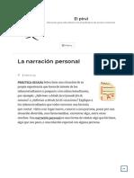 La narración personal – El pirul.pdf