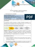 Guía de actividades y rúbrica de evaluación - Unidad 1 - Reto 2 - Apropiación Unadista (1)