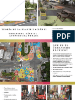Urbanismo Táctico - Acupuntura Urbana