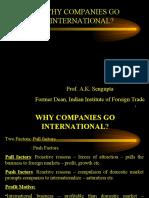 Why Companies Go International