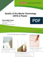CBTA Plaster