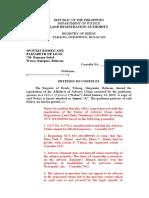 Petition-in-Consulta SAMPLE.doc