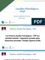 RESUMEN CLASE 1. Primeros Auxilios Psicologicos PAP (1)