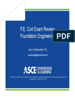 Spring 2019 Session 6 - Foundation Engineering