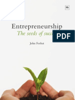 Entrepreneurship The Seeds of Success
