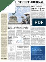 The Wall Street Journal - 21.07.2020