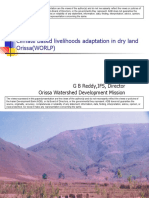 Eco-system based adaptation for food and livelihood security in Orissa, India - presentation