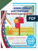 Vote by Mail Flysheet