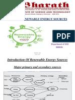 EEE- BEE048 - Renewable Energy Sources- Mrs. R. Rathika