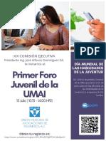 UMAI - FORO JUVENIL 2020