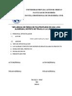 DISEÑO DE UNA LOSA ALIGERADA USANDO FIBRAS DE POLIPROPILENO
