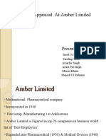 Amber Limited Main Ppt Shrm
